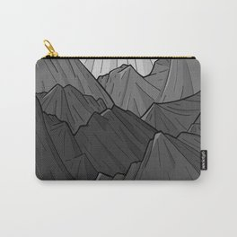 The Dark Grey Mountains Carry-All Pouch