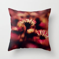 the colours of spring Throw Pillow