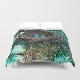 Robins Nest Duvet Cover