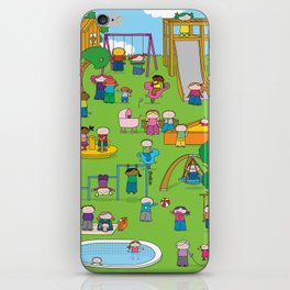 Playground  XL iPhone Skin