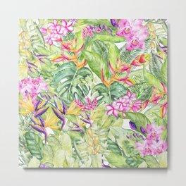 Tropical Garden 1A #society6 Metal Print
