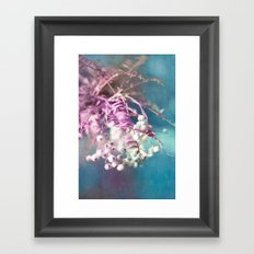 SNOWBALLS Framed Art Print