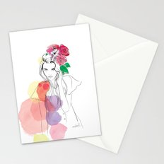 Flower Crowns Stationery Cards