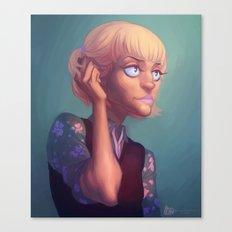 Armin headcanon Canvas Print