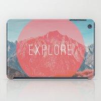 explore iPad Cases featuring Explore by Zeke Tucker