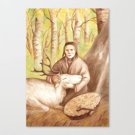 Rana ~ A Compendium Of Witches Canvas Print