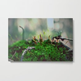 Exobiology Metal Print