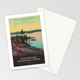 Pukaskwa National Park Stationery Cards