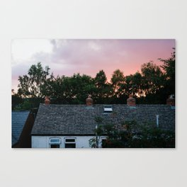 View from an English Window Canvas Print