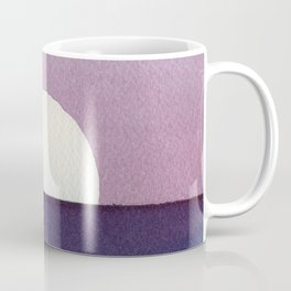 Moonset Watercolor Coffee Mug