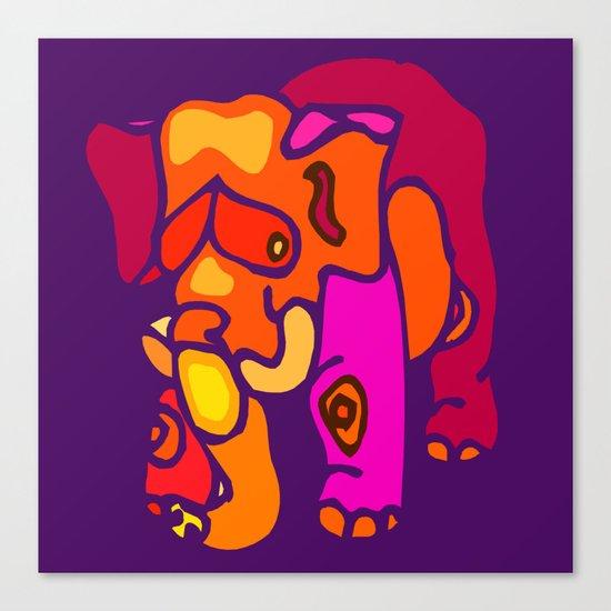 Elefunk Canvas Print