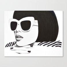 Hello Darling Canvas Print