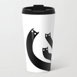 Spooky Cat Travel Mug