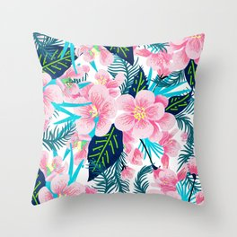 Floral Gift Throw Pillow