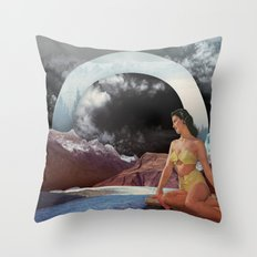 Summer's Coming Throw Pillow