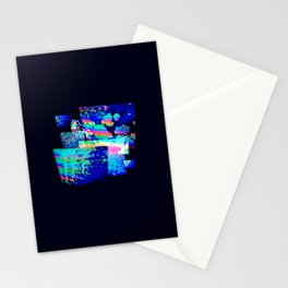 Multiverse in Technicolor Stationery Cards