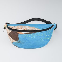 Graphic waves Fanny Pack