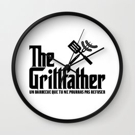 The Grillfather (fra) Wall Clock