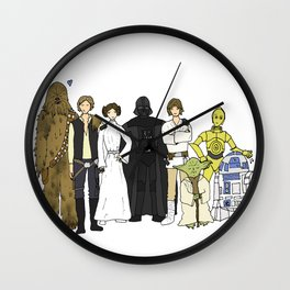 We are family Wall Clock