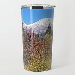Shasta at Fall Travel Mug