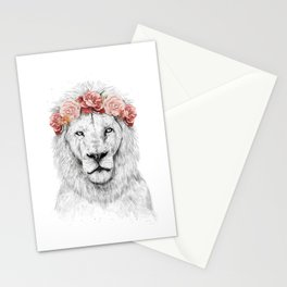 Festival lion Stationery Cards