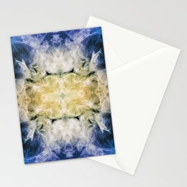 237 - abstract smoke design Stationery Cards