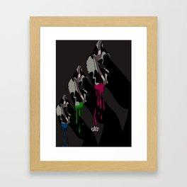 AIR MAX X ICE CREAM Framed Art Print
