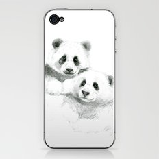 Giant Panda sketch SK064 iPhone & iPod Skin