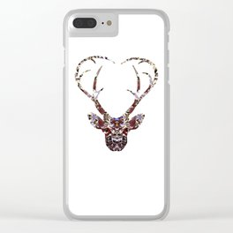 My Deer Love Clear iPhone Case