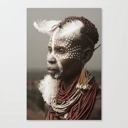 Karo Beauty. Canvas Print