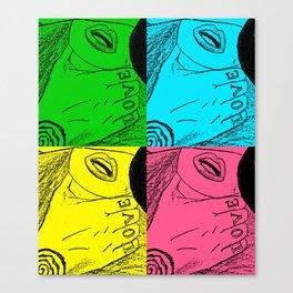 Love Choke Canvas Print