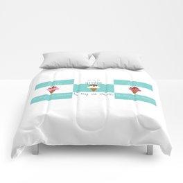 Sweet Cream Nothings Three Scoops Comforters
