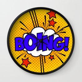 Boing ! Wall Clock
