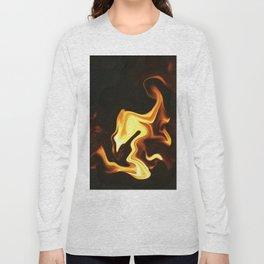 Flame Bird Long Sleeve T-shirt