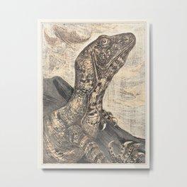 Theo van Hoytema - Leguaan Metal Print