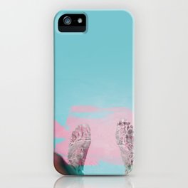 Both Feet In #society6 #buyart iPhone Case