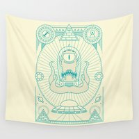 simpsons Wall Tapestries featuring Kang the Liberator  by Josh Ln