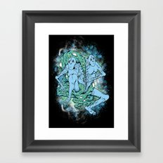 Sewn Together Framed Art Print