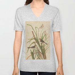 Naturalist Finches Unisex V-Neck