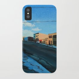 Wyckoff iPhone Case