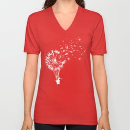 Going where the wind blows Unisex V-Neck