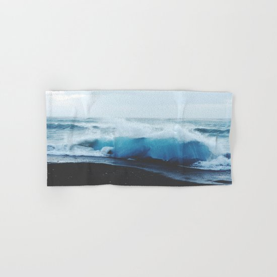 ocean waves Hand & Bath Towel