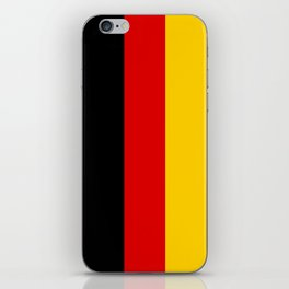 Flag of Germany - Authentic High Quality image iPhone Skin