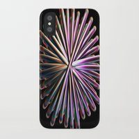 the wire iPhone & iPod Cases featuring Wire Circle by Brian Raggatt