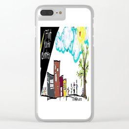 Flint Youth Center Clear iPhone Case