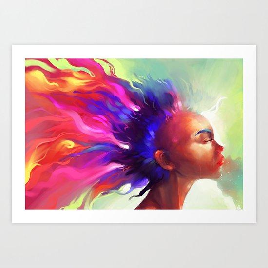Dragons Breath  Art Print