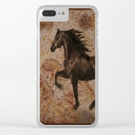The Emperor's Stallion Clear iPhone Case