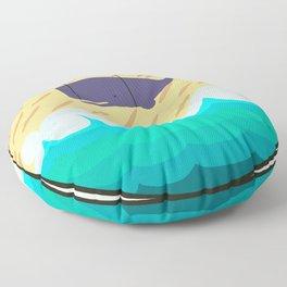 Randall The Whale Floor Pillow