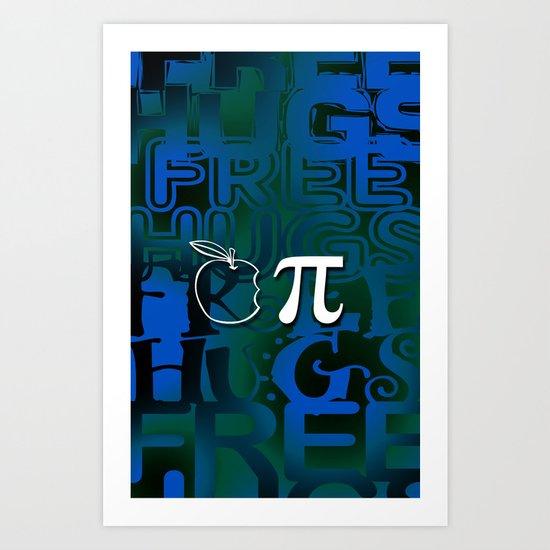 Apple Pie - Free Hugs Art Print