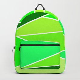 Broken Green Hues Backpack